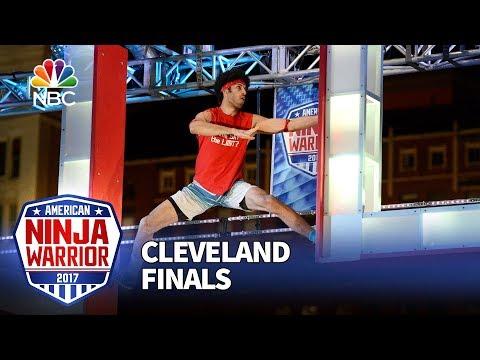 Jon Alexis Jr. at the Cleveland City Finals - American Ninja Warrior 2017