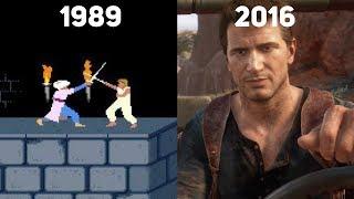 Как менялась игровая анимация? 20 знаковых игр