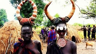 Mursi Tribe of the Omo Valley, South Ethiopia