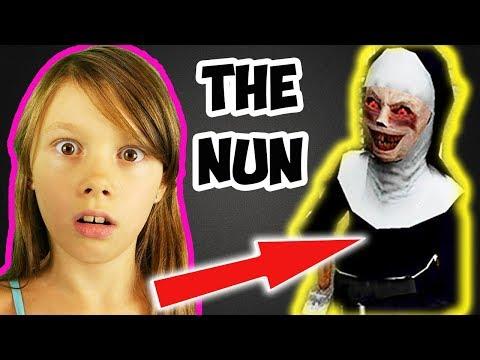 Прохождение The Nun Как пройти игру Монахиня Убийца Концовка игры Летсплей | Эй Lets Play 12+