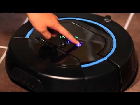 iRobot Scooba® 450   วิธีเลือกการทำงานตามขนาดห้อง