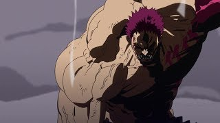 Luffy defeats Katakuri with Gear4th Snake Man & vows he will become King of Pirates!