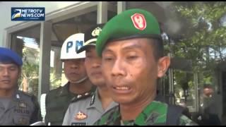 Razia Atribut TNI di Rembang Diwarnai Adu Mulut