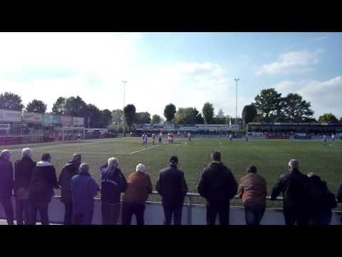 JVC Cuijk - FC Lienden - Vrije trap