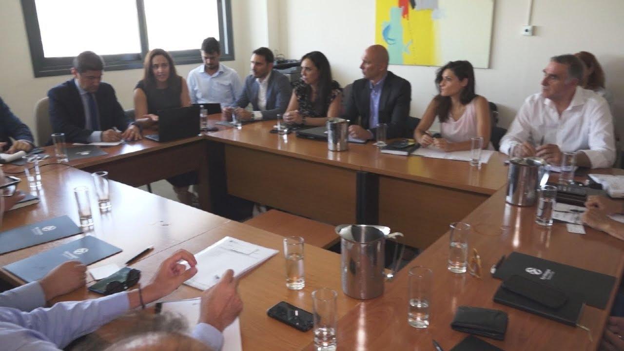 Σύσκεψη παρουσία του Υφ. Πολιτισμού και Αθλητισμού Λ. Αυγενάκη για θέματα της Euroleague