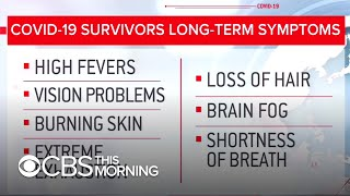 COVID-19 survivors report debilitating physical and mental symptoms months after testing negative