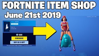 *NEW* BOUNCER EMOTE!  - Item Shop June 21st (Fortnite Battle Royale Livestream)