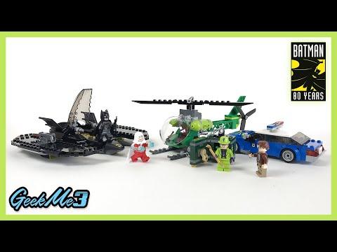 Vidéo LEGO DC Comics Super Heroes 76120 : Le Batwing et le cambriolage de l'Homme-Mystère