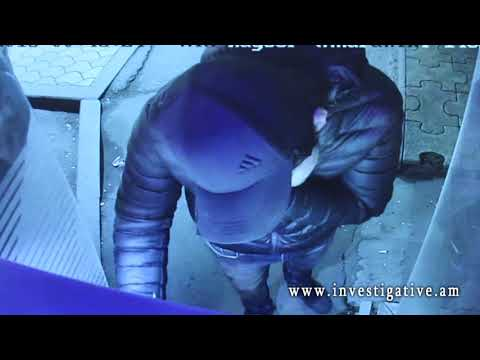 Через украденную банковскую карту пытались обналичить деньги(Видео)