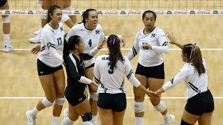 Rainbow Wahine Volleyball 2018 - Hawaii Vs Cal State Fullerton