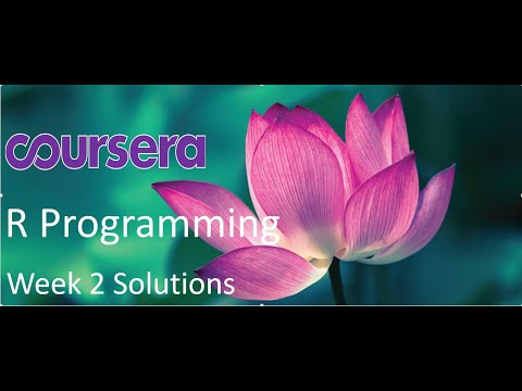 R Programming - Coursera - Week 2 Quiz and Programming ...