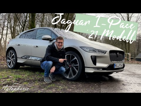 ⚡️⚡️⚡️ 2021 Jaguar I-Pace S EV400 AWD Fahrbericht / Winter-Verbrauch [4K] - Autophorie