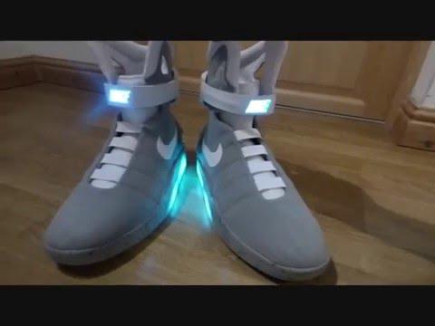 Seraphim Mag V2 Replicas Using The DIY Lighting Kit Nike Mag Replicas -  YouTube 629071ab8