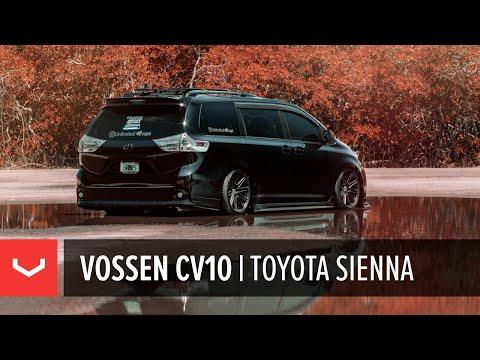 Toyota Sienna   Vossen CV10 Concave Wheel   Unlimited Wraps Miami