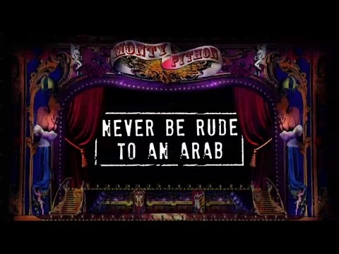 Never Be Rude to an Arab Lyric Video