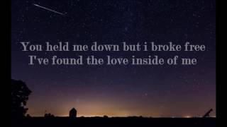 Cash Cash - Hero feat Christina Perri (Lyrics)