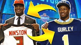 We Re-Drafted The Last 10 NFL First Overall Picks... Here's What It Looks Like...