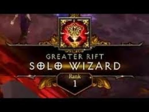 Diablo 3 | GR138 Solo Wizard | Rank 1 WORLD (Vyr Chantodo)