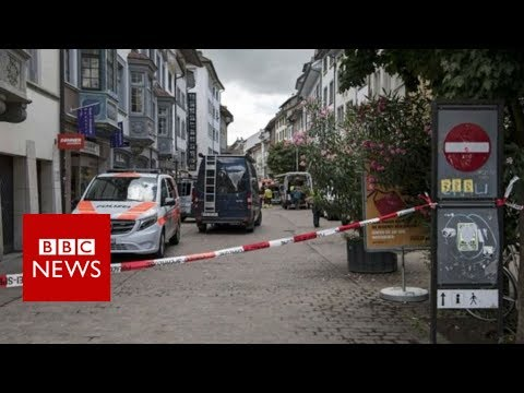 Switzerland: Five injured in Schaffhausen attack, say police – BBC News