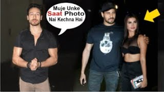 Tiger Shroff JEALOUS Seeing Tara Sutaria With BOYFRIEND Sidharth Malhotra At SOTY 2 Movie Screening