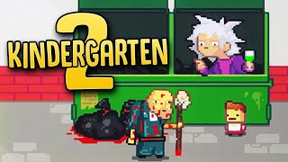"Taking Out The ""Trash"" With One Crazy Janitor - Kindergarten Is Back! - Kindergarten 2 Part 1"