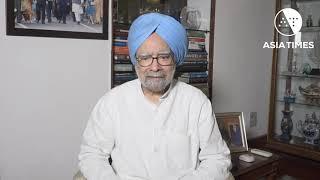Dr Manmohan Singh worried about economic slump