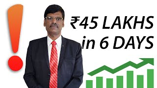 HOW I MADE ₹45 LAKHS IN 6 DAYS by Trading (with proof)