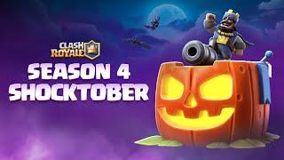 Clash Royale Season 4: Shocktober! 🎃⚡🦇