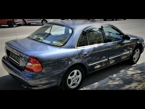 КОРЕЙСКАЯ КАПСУЛА Hyundai Sonata Y3 Третье поколение 1997 год 2.0l 29000 км капсула времени