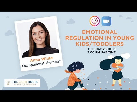 Emotional Regulation in Young Kids/Toddlers