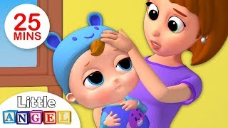 Baby Got Sick | Sick Song +More Kids Songs & Nursery Rhymes by Little Angel