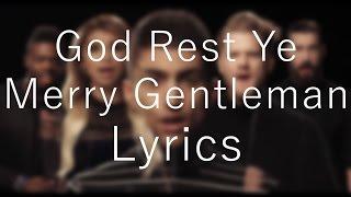 God Rest Ye Merry Gentlemen「Pentatonix」[On Screen Lyrics]