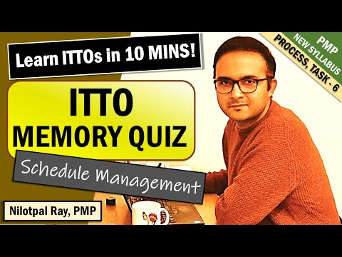 HOW TO MEMORIZE ITTOs for PMP Exam and CAPM ... - YouTube