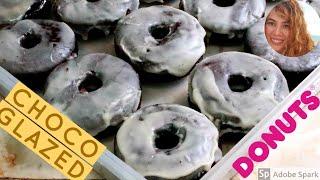 Chocolate Glazed Donut | How To Make