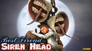 Best Friend SIREN HEAD - Horror Short Film Animation