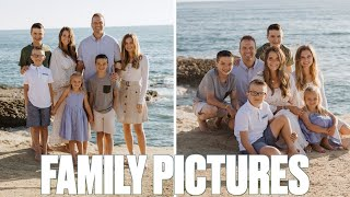 BINGHAM FAMILY PICTURES | PICK OUR NEW PROFILE PICTURE | SUNSET CLIFFS FAMILY PHOTO SHOOT PICS