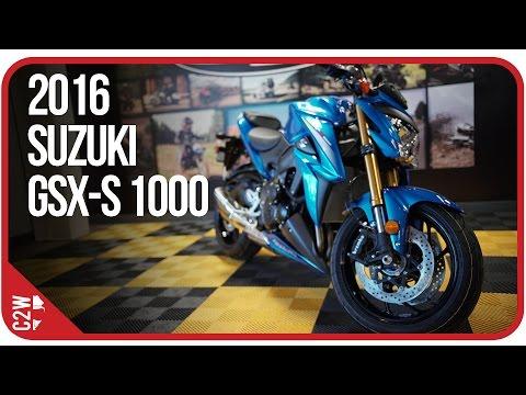 2016 Suzuki GSX-S 1000 | First Ride