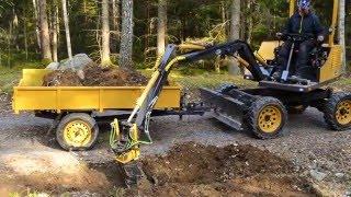 Homemade Excavator Fodere 2
