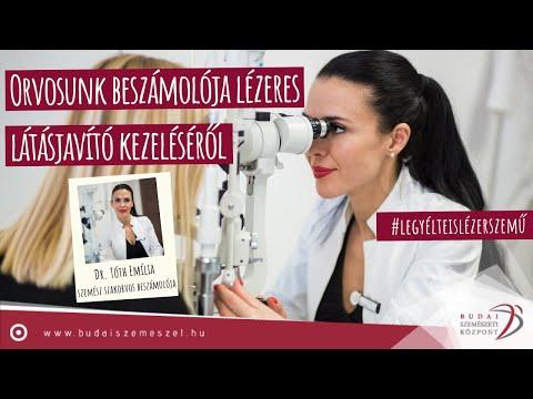 Látásmezők stroke helyreállítása