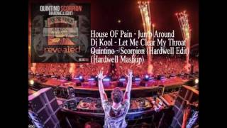 Jump Around vs. Let Me Clear My Throat vs. Scorpion (Hardwell Mashup)