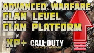 Advanced Warfare: How to Level Clan? / Color Clan Tag / Clan Cross Platform