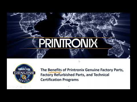 Printronix Genuine Factory Parts, Factory Refurbished Parts, and ...
