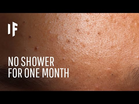 The Shocking Result of Not Showering for a Month
