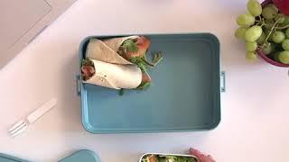 Mepal Lunchbox met Bentobakje Groot Wit