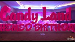 Candy Land Themed Birthday Party - Precision Pro Events