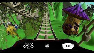 360° Fantastic Roller Coaster VR 360 4K Virtual Reality Ride 360 4K
