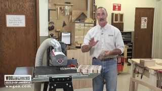 Versatility of Surface Sanders: Supermax 19-38 Drum Sander | Woodworkers Guild of America