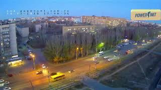 ДТП (авария г. Волжский) пр. Ленина ул. Мечникова 14-11-2018 17-48