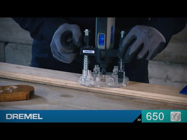 Video FRESA RECTA 650 HERRAMIENTAS DREMEL 2.615.065.032