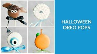 Halloween Oreo Pops #2